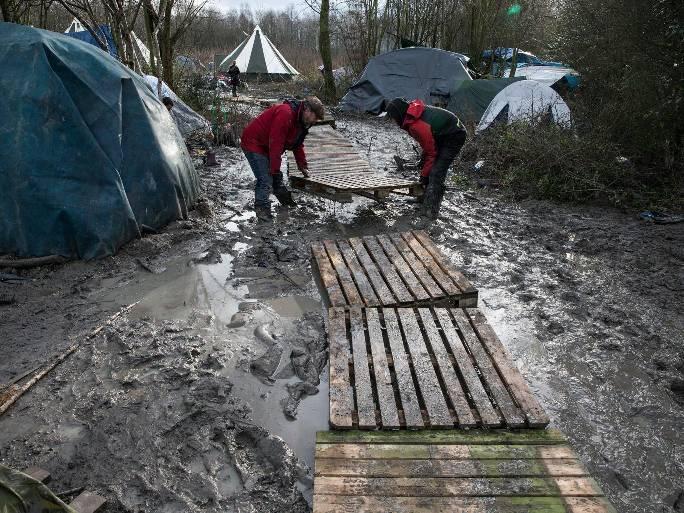 Життя біженців у Калей - Джунглі 2