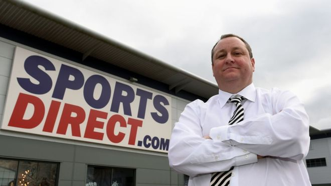 Засновника Sports Direct викликають на допит парламентарів