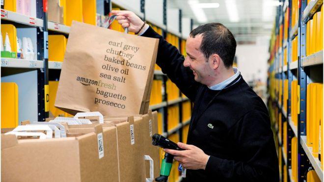 Amazon запустив повний онлайн супермаркет у Лондоні