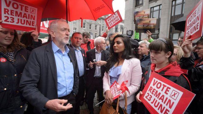Референдум ☀ Корбин закликає лейбористів залишатись у ЄС