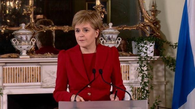 Сторджин ☀ Майбутнє Шотландії у Європі