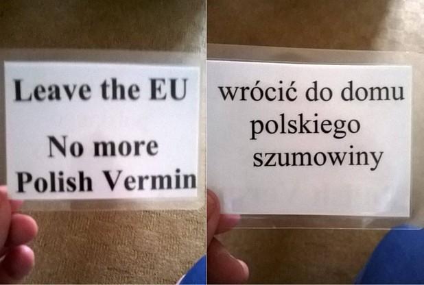 Поліція Кембриджшиа розслідує нацистські листівки для поляків